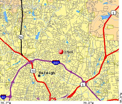 Free Map of raleigh nc - HolidayMapQ.com ® Zip Code Map Raleigh Nc on