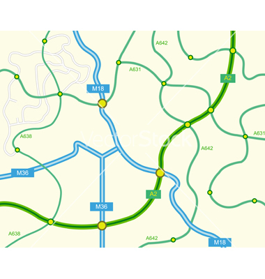 Free Map of on the road - HolidayMapQ.com