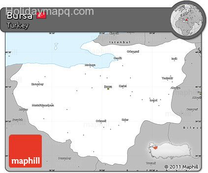 free-gray-simple-map-of-bursa