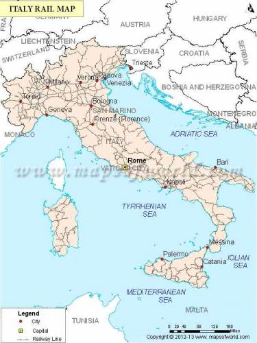 Italy Map 10