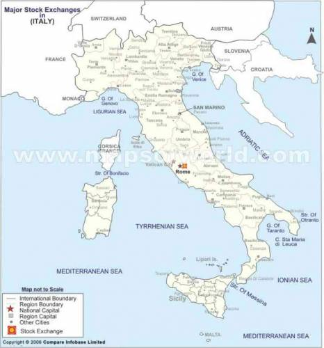 Italy Map 8
