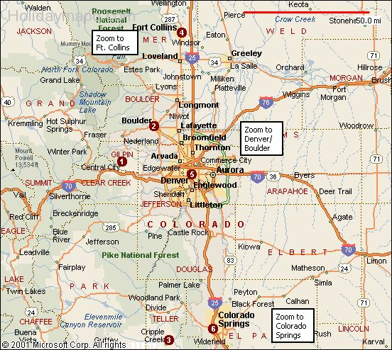 Mapsofdallascoloradohighwaymap Map Holiday Travel - Colorado road maps