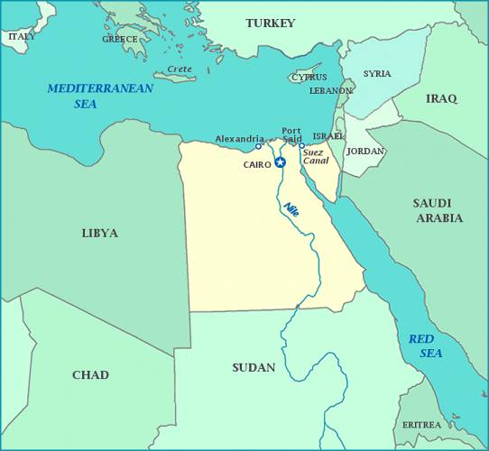 map-of-egypt