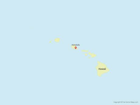 vector-map-of-hawaii-free-vector-maps