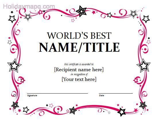 Template Award. Scholarship Certificate Template 502 Best