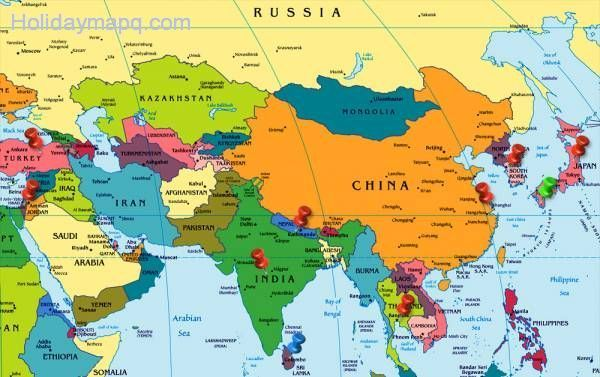 east-asia-on-world-map-top-images