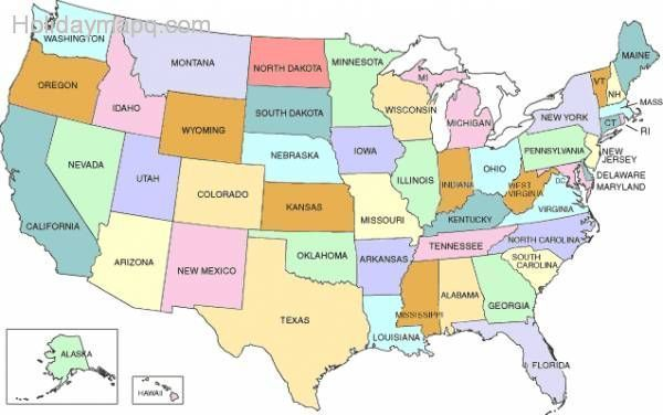 Us Map Alabama Missouri Map - Us map missouri