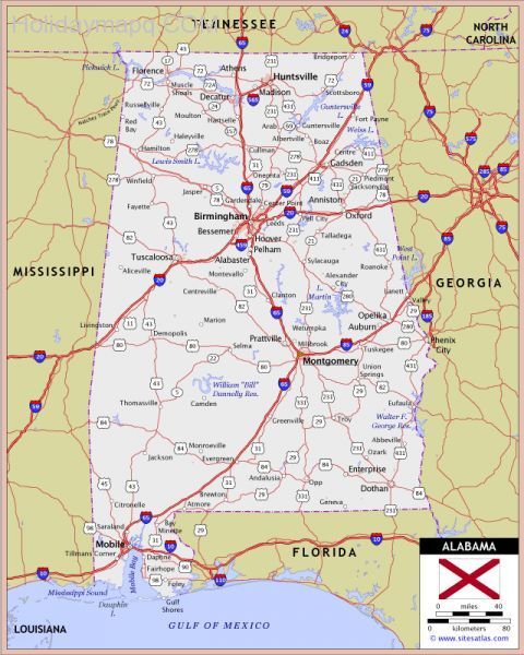 alabama-highway-and-road-map-raster-image-version-world-sites-