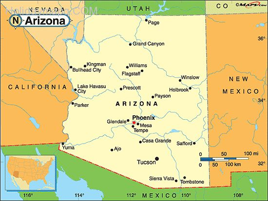 arizona-political-map-by-maps-com-from-maps-com-worlds-largest-