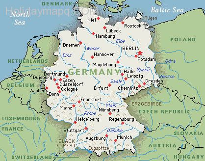 Germanymapgooglemapofgermany Map Holiday Travel - Germany map google