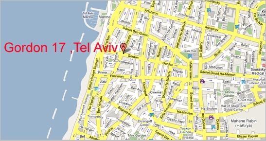 Tel Aviv Map – Tourist Map Of Tel Aviv