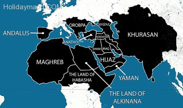 isis-reveals-map-of-europe-showing-areas-it-wants-to-dominate-by-