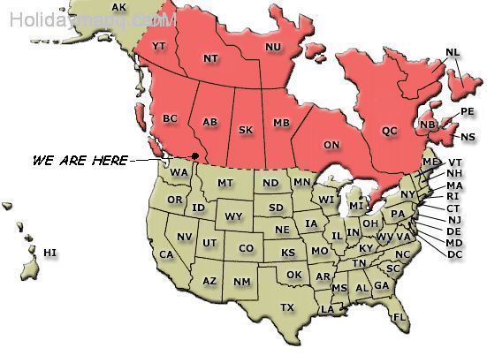 map-of-canada-and-us-holidaymapq-com-
