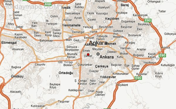 Image result for ankara city map