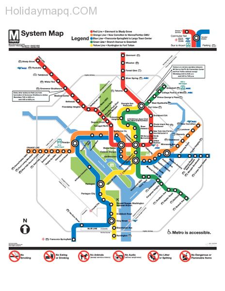 official-washington-dc-metro-map-washington-dc-u2022-mappery