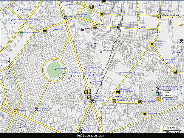 Pakistan - Download GPS Map for Garmin