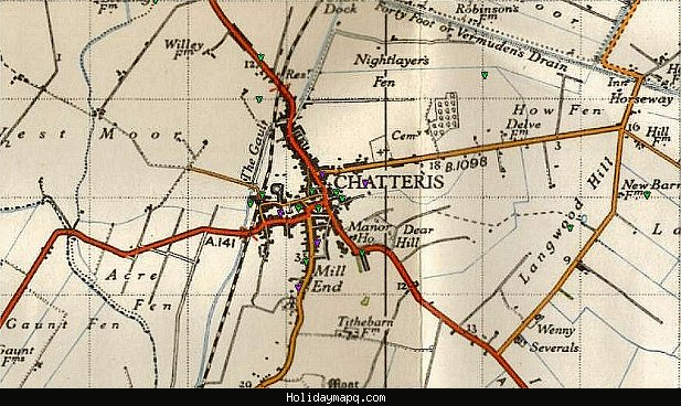 Map of Chatteris