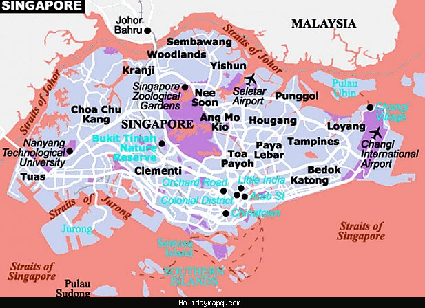 Singapore Map Tourist Attractions – Tourist Attractions Map In Singapore