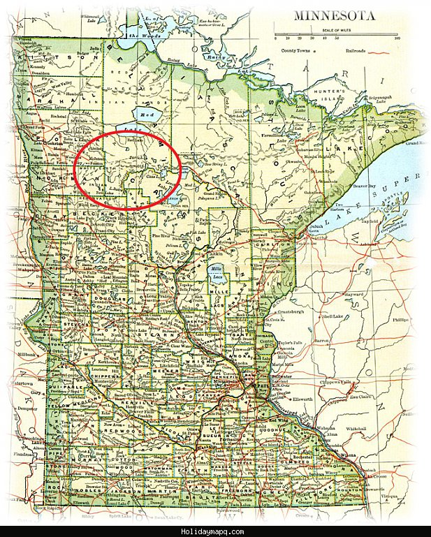 Map of Bemidji