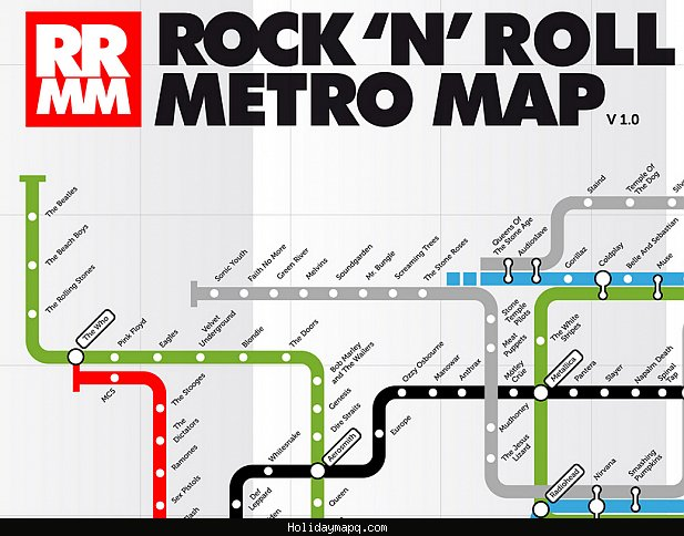 Map of Rock