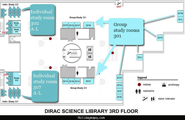 dirac-science-library-room-booking-maps-fsu-libraries