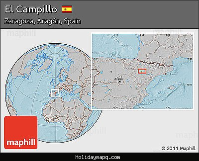 free-gray-location-map-of-el-campillo-hill-shading