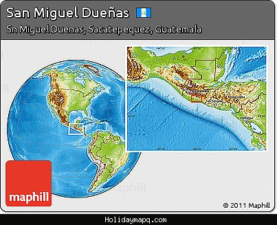 free-physical-location-map-of-san-miguel-dueas