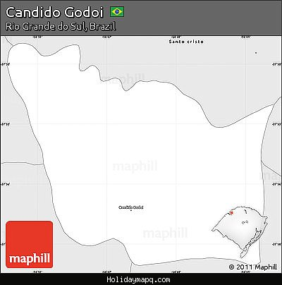 free-silver-style-simple-map-of-candido-godoi