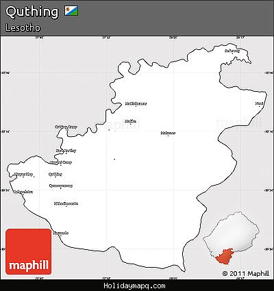 free-silver-style-simple-map-of-quthing-cropped-outside