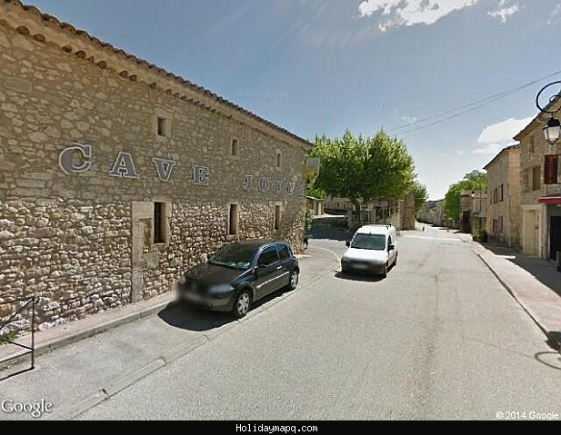 google-street-view-laval-saint-roman-google-maps-