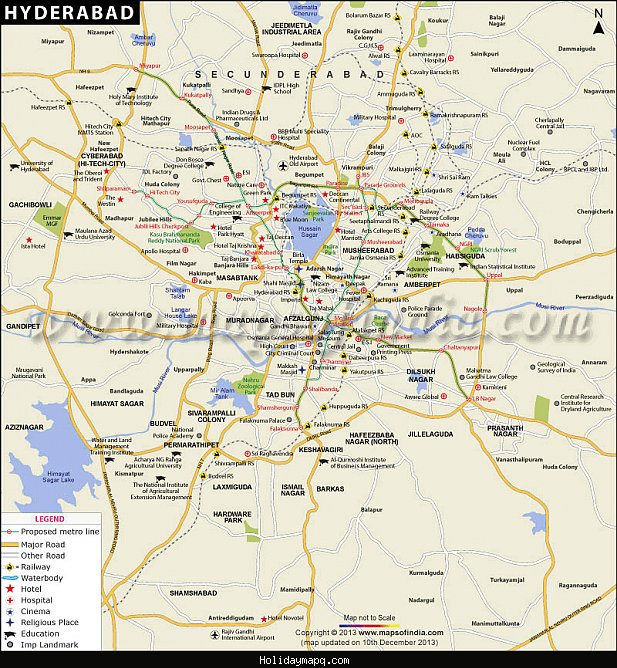 hyderabad-city-map