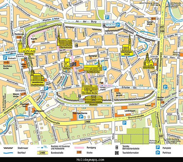 Munich Map Tourist Attractions – Munich Tourist Attractions Map