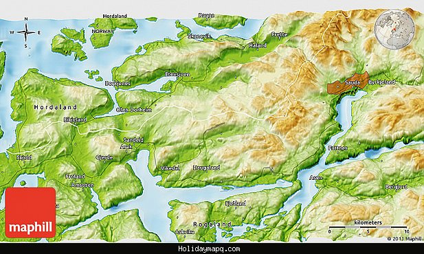 physical-3d-map-of-sknevik