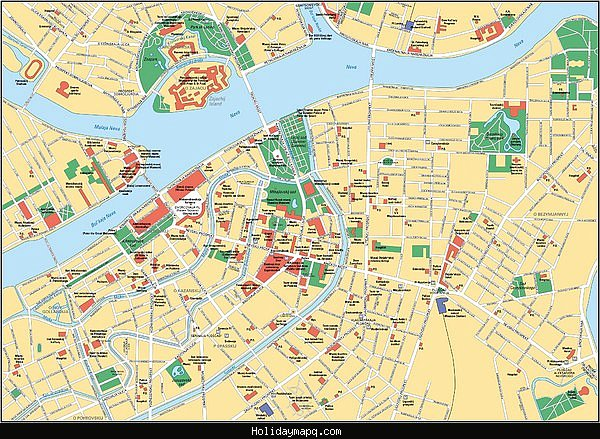 TampaSt Petersburg Map Tourist Attractions – Tourist Attractions Map In Tampa