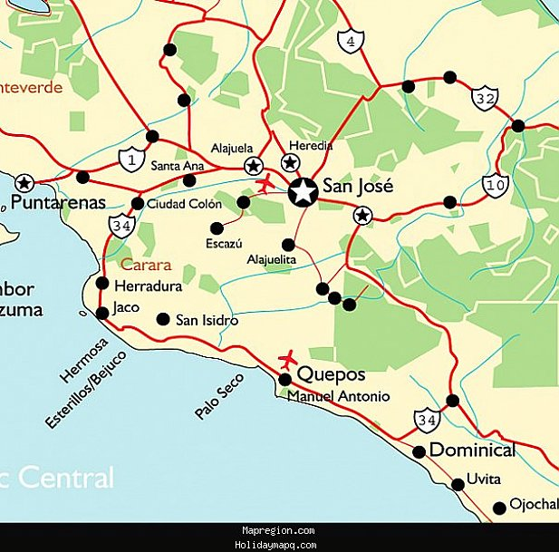 San Jose Map Tourist Attractions – Tourist Attractions Map In San Jose