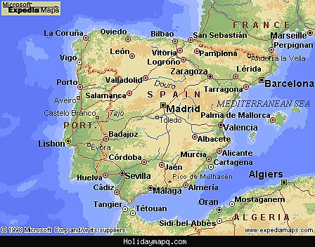 spain-map-travel-and-tourist-information-flight-reservations-