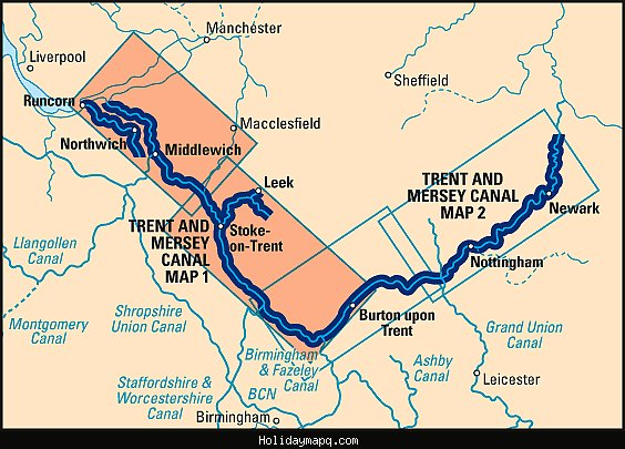 trent-u0026amp-mersey-canal-map-1-preston-brook-to-fradley-junction