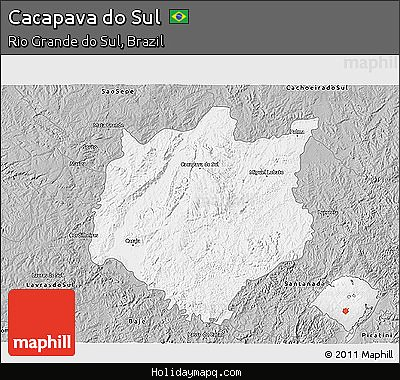 Map of Cacapava