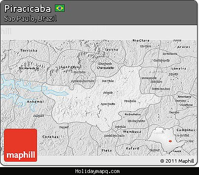 free-silver-style-3d-map-of-piracicaba