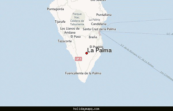 MOUNTAINERING MAP PALMA