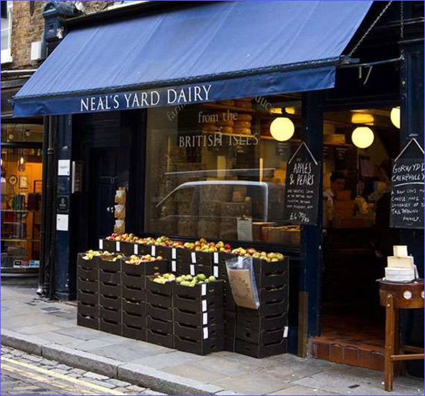 Neal's Yard Dairy - Seven Dials