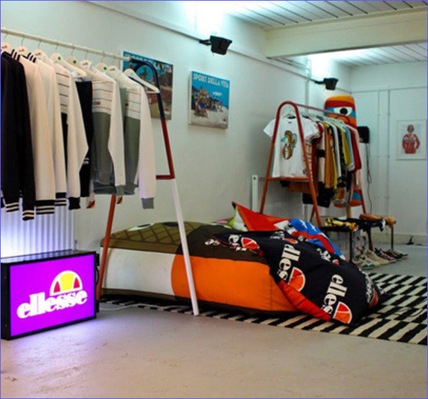 Ellesse Pop Up Store, London E2