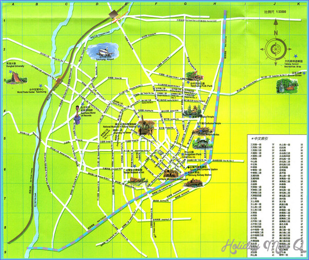 Taichung Map Tourist Attractions_1.jpg