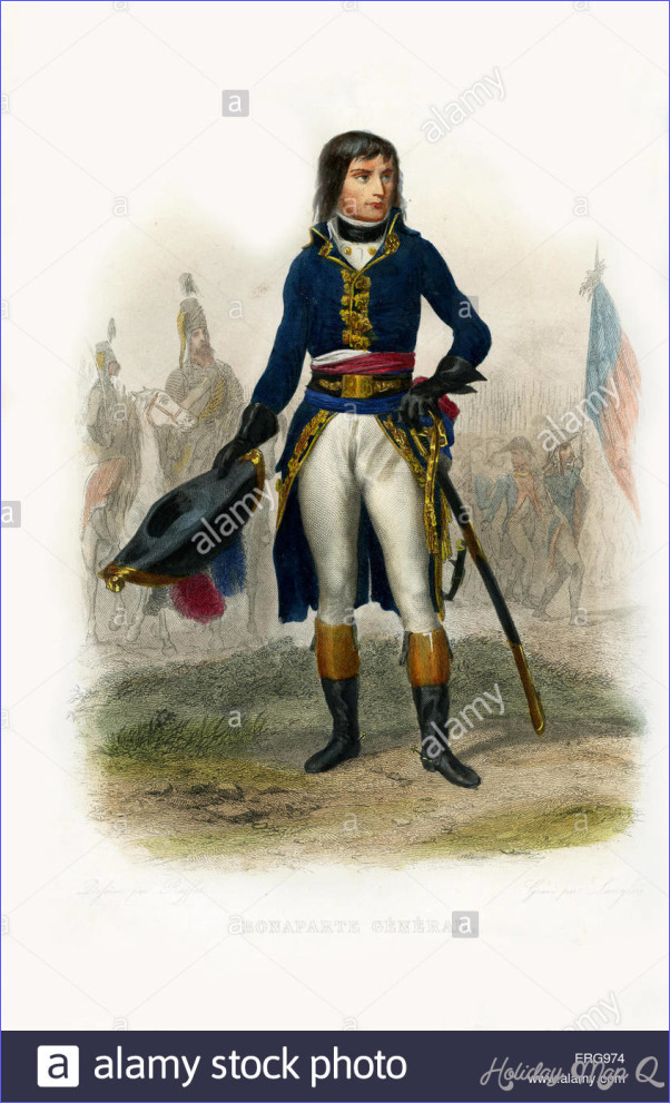 French general Napoleon Bonaparte - HolidayMapQ.com