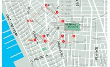 nyc walking map Archives - HolidayMapQ.com ®