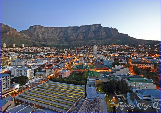 About Cape Town CBD in City Bowl