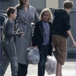 Angelina Jolie smiles as she runs last-minute holiday errands with ...