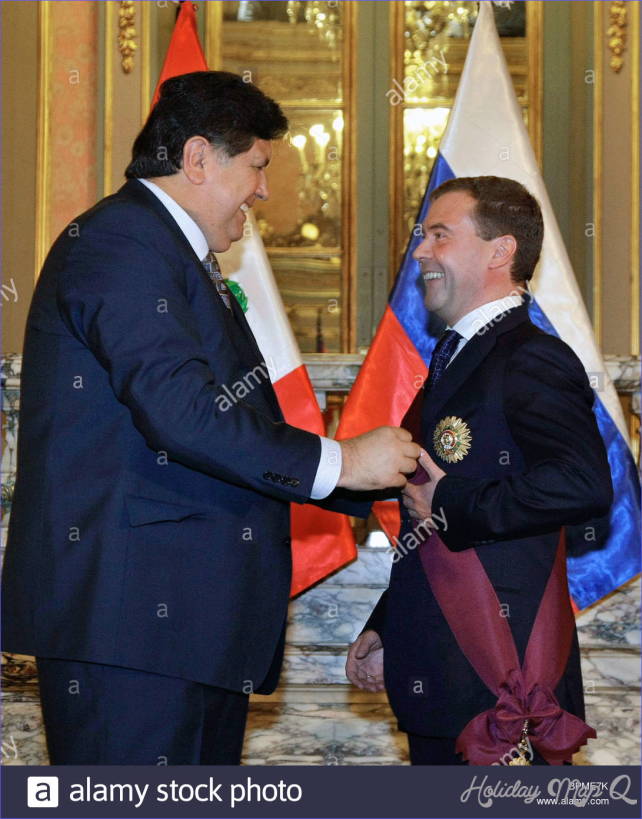 President Medvedev's visit to Peru continues
