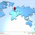 World Map, Country Of Germany Stock Illustration