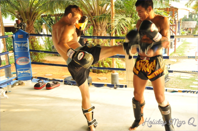 I would definitely recommend Tiger Muay Thai and MMA to anyone